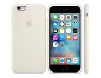 Чехол для iPhone 6s Plus / 6 Plus Silicone Case Antuque White